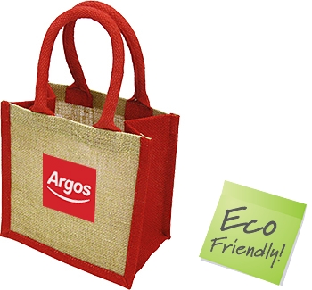 Lichfield Mini Bag For Life Jute Bags