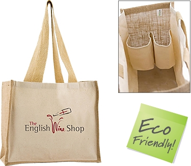 Wrexham Combo Bottle Jute Bags