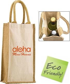Halifax Combo Jute Bottle Bags