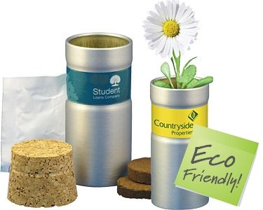 Promotional Desktop Garden Tubes Printed with your Logo at