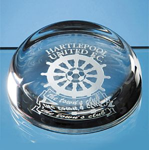 Edinburgh Lead Crystal Flat Top Paperweights