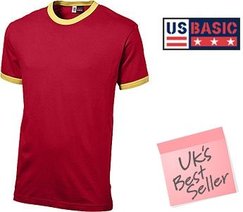 US Basic Adelaide Contrast T-Shirts