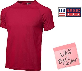 US Basic Striker Cool Fit T-Shirts