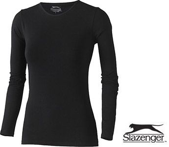 Slazenger Curve Long Sleeved Ladies T-Shirts