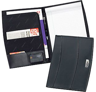 Buxton Leather Conference Folder