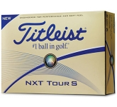 Titleist NXT Tour S Golf Ball  by Gopromotional - we get your brand noticed!