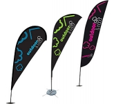 Wind Flag  by Gopromotional - we get your brand noticed!