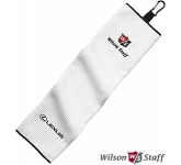 Wilson Tri Fold Waffle Golf Towel  by Gopromotional - we get your brand noticed!