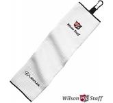 Wilson Tri Fold Waffle Golf Towel