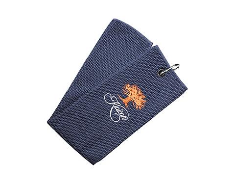 Birkdale Tri Fold Micro Velour Golf Towel