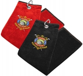 Carnoustie Tri Fold Velour Golf Towel  by Gopromotional - we get your brand noticed!