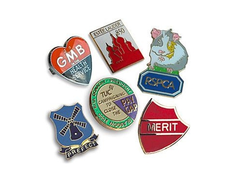 30mm Soft Enamel Pin Badge