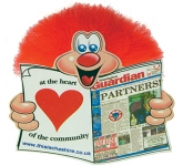 Newspaper Adman  by Gopromotional - we get your brand noticed!