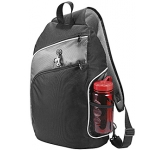"Hayes 15"" Triangle City Laptop Backpack  by Gopromotional - we get your brand noticed!"