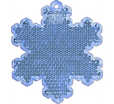 Snowflake Shaped Reflector