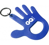 Hand Shaped Keyring Bottle Opener  by Gopromotional - we get your brand noticed!