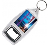 Acrylic Keychain Bottle Opener  by Gopromotional - we get your brand noticed!