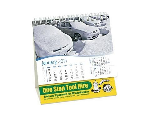 Compact Easel Desk Calendar