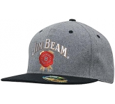 Adams Grey Marle Fannel Cap  by Gopromotional - we get your brand noticed!