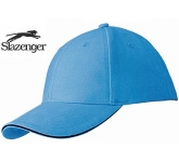 Slazenger Elements 6 Panel Sandwich Cap  by Gopromotional - we get your brand noticed!