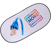 Oval Pop Up Car Windscreen Sun Shade  by Gopromotional - we get your brand noticed!