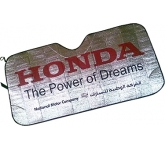 Metallic Concertina Car Windscreen Sun Shade  by Gopromotional - we get your brand noticed!
