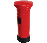 Pillar Box Stress Toy  by Gopromotional - we get your brand noticed!