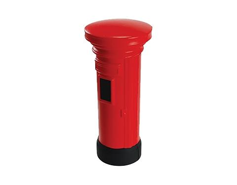 Pillar Box Stress Toy