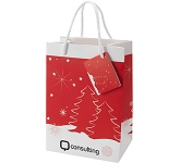 Christmas Gift Bag Medium  by Gopromotional - we get your brand noticed!