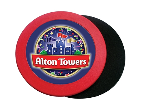 Deluxe Round Acrylic Optima Coaster