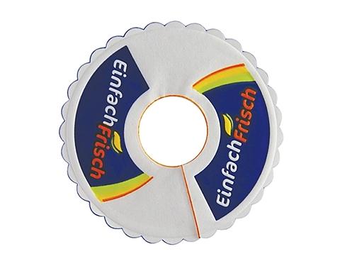 Round Stem Wax Backed Tissue Coaster