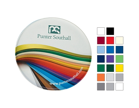 Round PVC Coasters