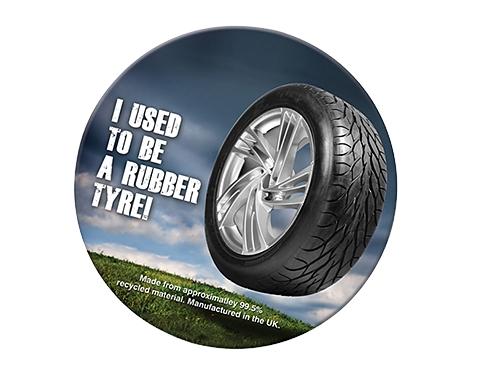 Round Tyre Brite-Mat Coaster