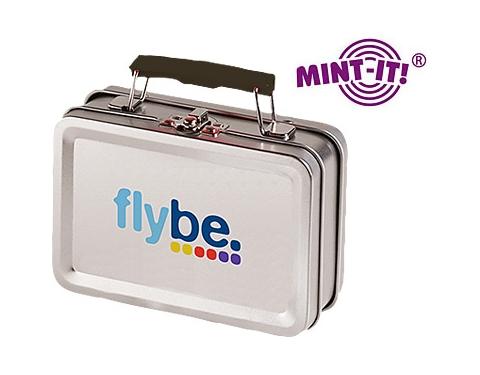 Suitcase Metal Mint Case