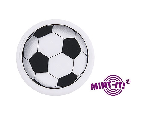 Football Shaped Mint Card