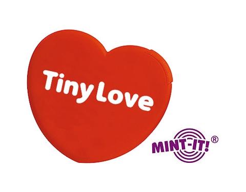 Heart Shaped Mint Card
