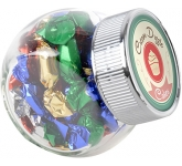 Mini Side Glass Sweet Jars - Boiled Sweets  by Gopromotional - we get your brand noticed!