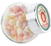 Mini Side Glass Sweet Jars - Fruit Sweets  by Gopromotional - we get your brand noticed!