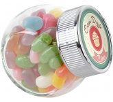 Mini Side Glass Sweet Jars - Jelly Beans