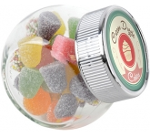 Mini Side Glass Sweet Jars - Tum Tums  by Gopromotional - we get your brand noticed!