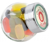 Mini Side Glass Sweet Jars - Wine Gums