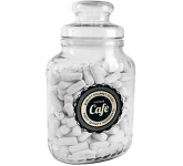 Classic Glass Sweet Jars - Chalk Torpedos  by Gopromotional - we get your brand noticed!