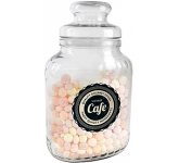 Classic Glass Sweet Jars - Fruit Sweets  by Gopromotional - we get your brand noticed!