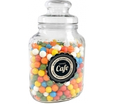Classic Glass Sweet Jars - Gum Balls  by Gopromotional - we get your brand noticed!