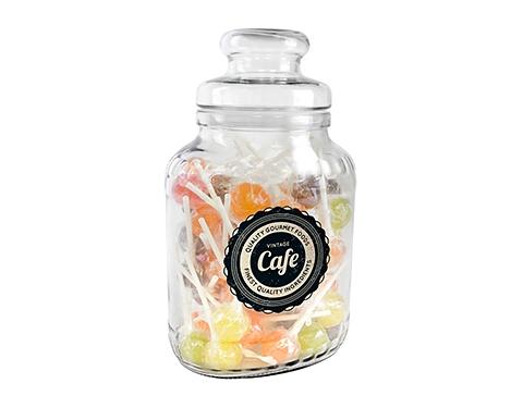 Classic Glass Sweet Jars - Lollipops