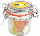 Clip Top Glass Sweet Jars - Tum Tums
