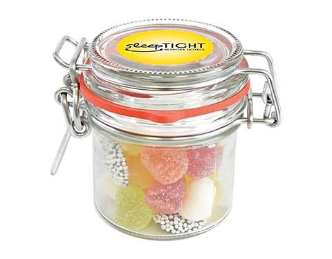 Clip Top Glass Sweet Jars - Tum Tums