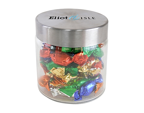 Small Screw Top Glass Sweet Jars - Boiled Sweets
