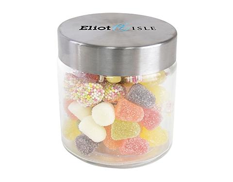 Small Screw Top Glass Sweet Jars - Tum Tums