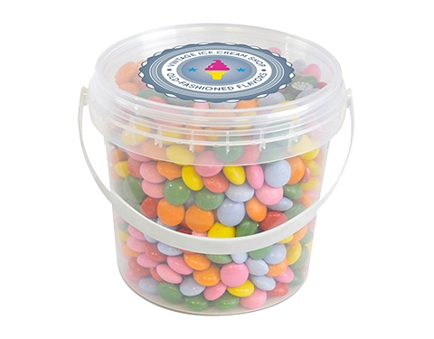 Mini Sweet Buckets - Coated Chocolate Drops